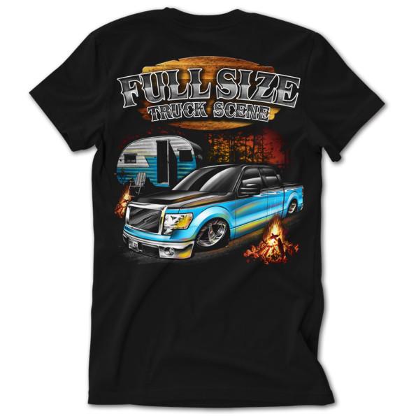 Full Size Truck Scene Backwoods F150 Tshirt