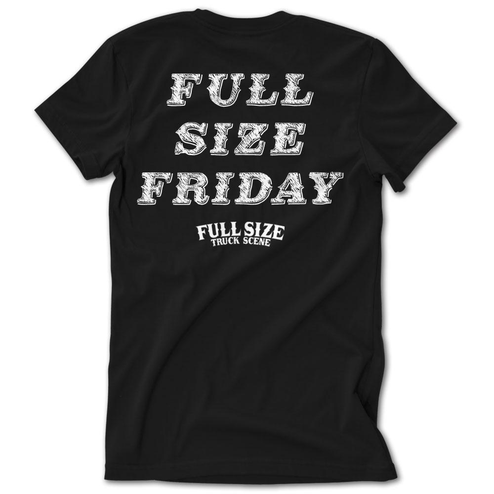 full size t shirt template - full size truck scene full size friday tshirt low label