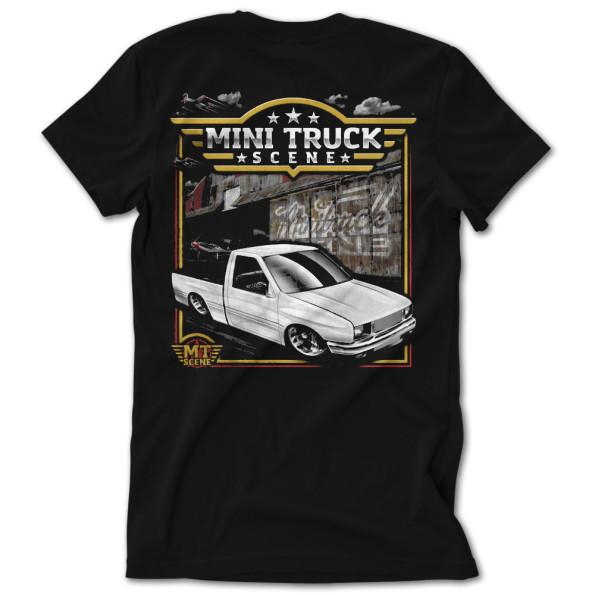 Mini Truck Scene Isuzu Airstrike Tshirt