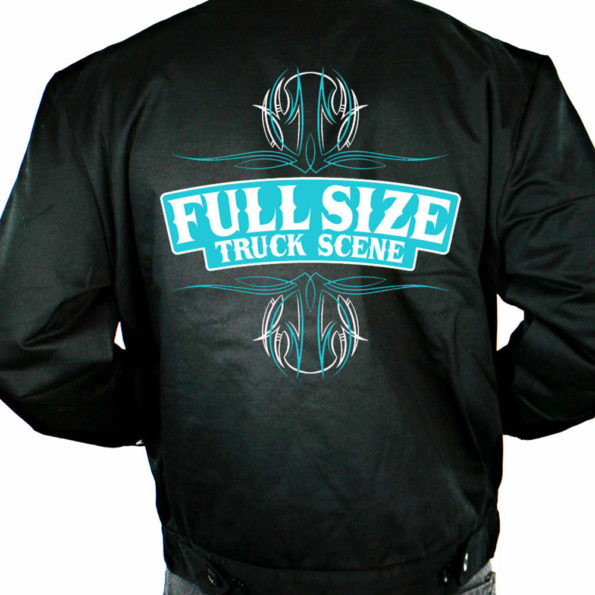 PRE-ORDER – Full Size Truck Scene Embroidered Dickies Jackets