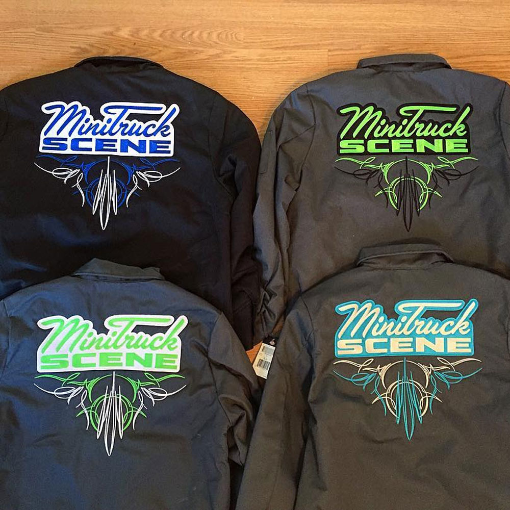 PRE-ORDER – Mini Truck Scene Embroidered Dickies Jackets ...