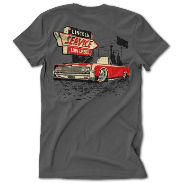 Low Label Drop Top Lincoln Tshirt