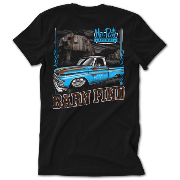 Hot Rod Avenue Blue/White Barn Find C10 Tshirt