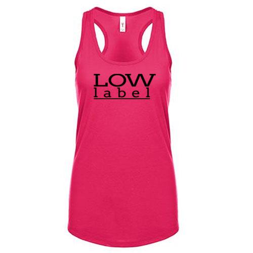 Low Label Women's Pink/Black Tank