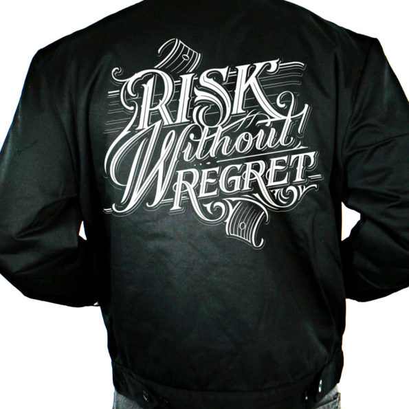 PRE-ORDER – Risk Without Regret Embroidered Dickies Jackets