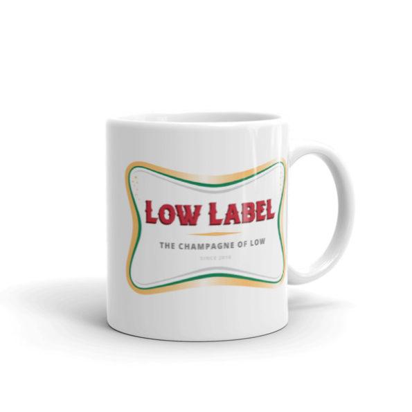 Low Label VIP Champagne Mugs