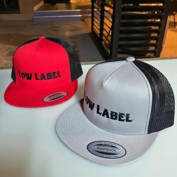 24a5a9dee1495 Low Label Champagne 2-Tone Flatbill Trucker Hats